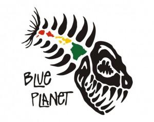 Blue Planet logo 127- Rasta Island bones