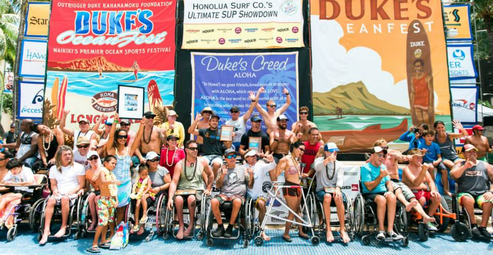 Adaptive Surf Competition 2014 Accessurf Hawaii Nonprofit