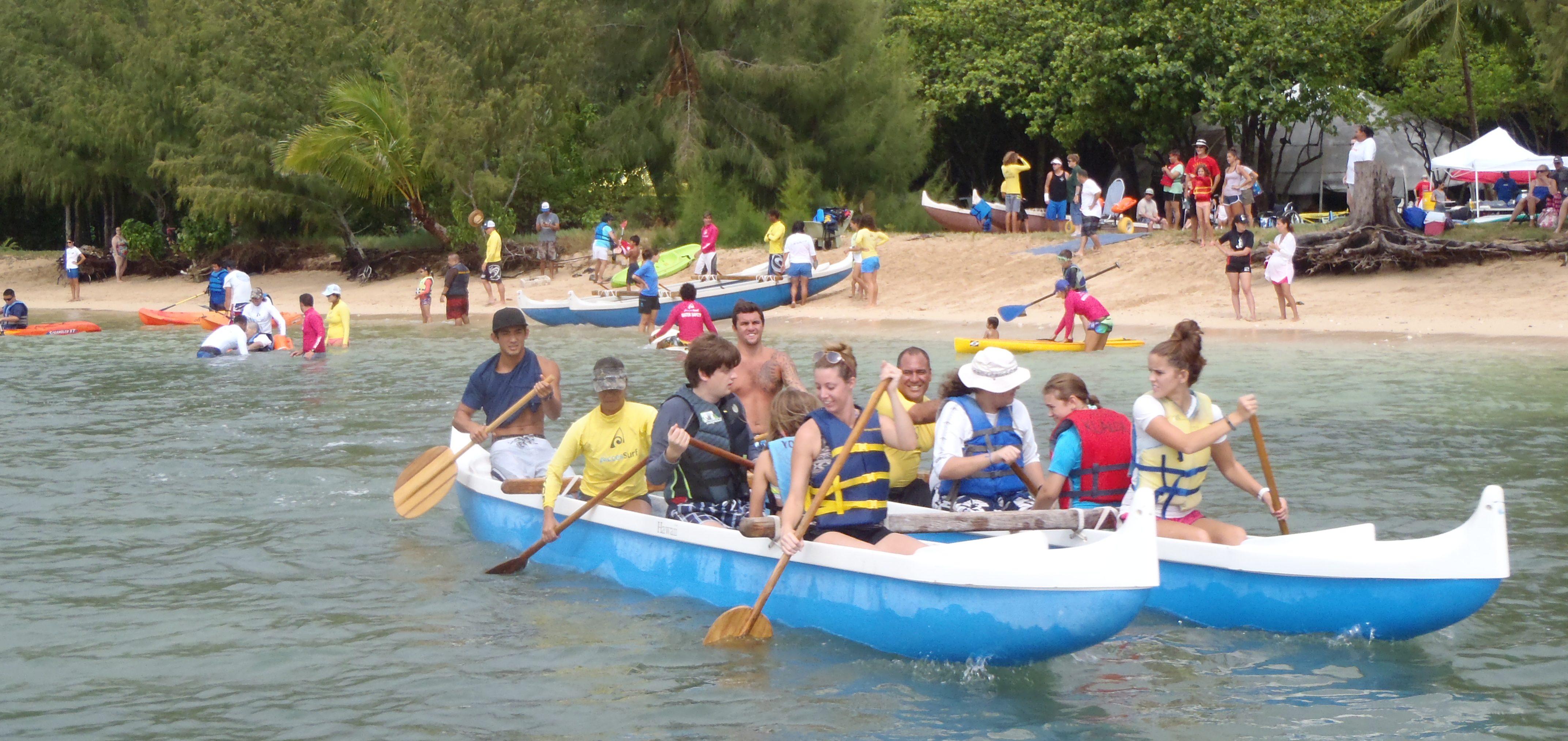 kualoa canoe