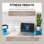 fitness fridays flyer