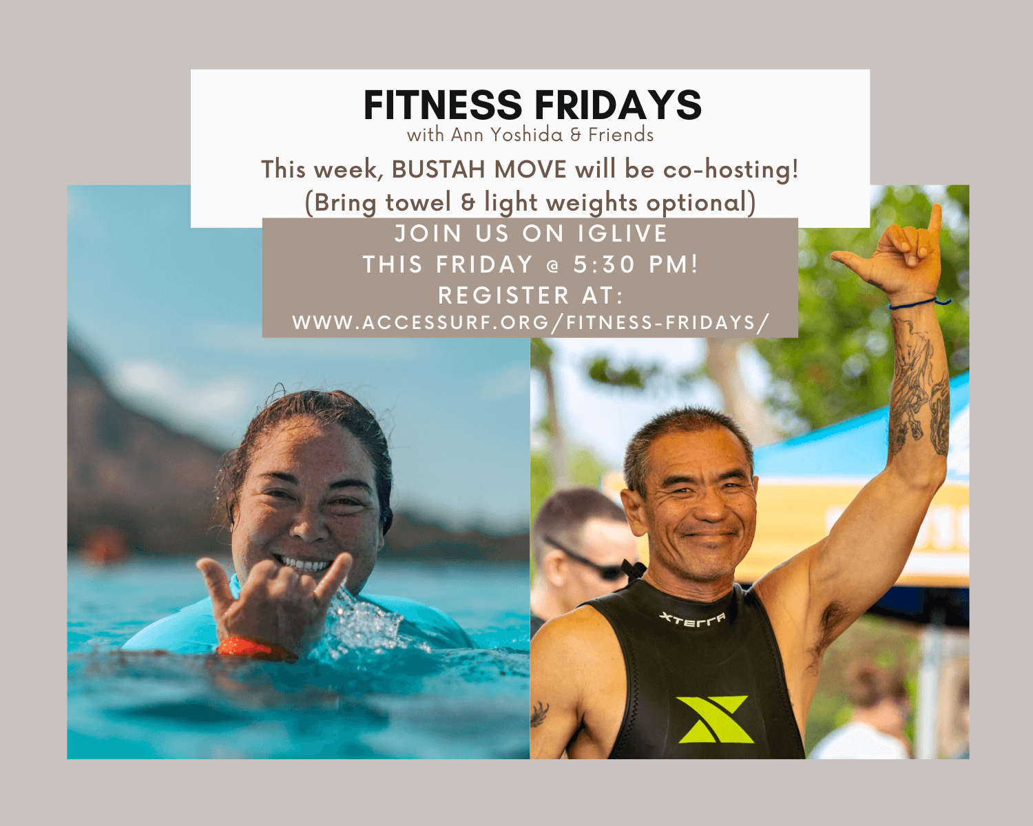 fitness friday buster ann