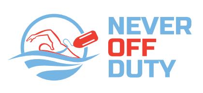 never off duty logo