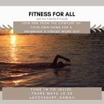 Fitness For All Swimming Stroke Workout Flyer