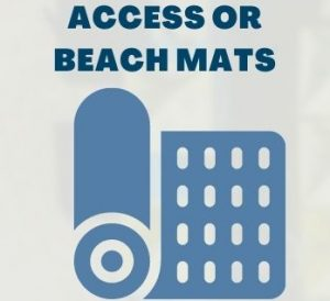 access or beach mats
