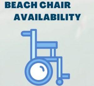 beach chair availability