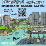 Sustainable Coastlines Hawaii cleanup flyer